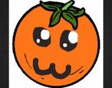 Dibujo naranjas pintado por manuela08