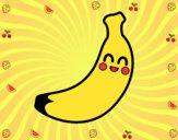 Dibujo Plátano de Canarias pintado por manuela08
