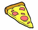 Ración de pizza