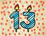13 años