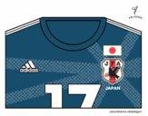 Dibujo Camiseta del mundial de fútbol 2014 de Japón pintado por vito_lm9