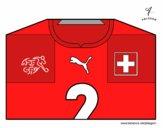 Dibujo Camiseta del mundial de fútbol 2014 de Suiza pintado por vito_lm9