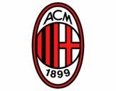 Dibujo Escudo del AC Milan pintado por vito_lm9