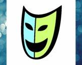 Dibujo Máscara pintado por Lucia626