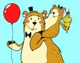 Dibujo Papá oso pintado por dandanhooo