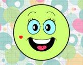 Dibujo Smiley feliz  pintado por Lucia626