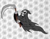 Dibujo Fantasma de la muerte pintado por annie9000