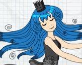 Dibujo Dulce princesa pintado por annie9000