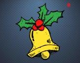 Dibujo Una campana de Navidad pintado por santy15