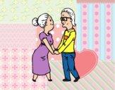 Abuelos cariñosos