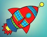 Cohete espacial