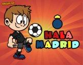 Dibujo Hala Madrid pintado por Laia543