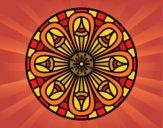 Dibujo Mandala lápices crecientes pintado por Vibrio88