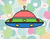 Dibujo OVNI extraterrestre pintado por gustavo1