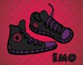 Dibujo Zapatillas pintado por naty02