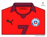Camiseta del mundial de fútbol 2014 de Chile
