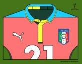Camiseta del mundial de fútbol 2014 de Italia
