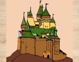 Dibujo Castillo medieval pintado por JOSEMG