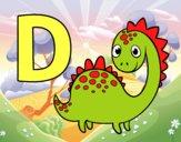 D de Dinosaurio