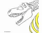 Esqueleto tiranosaurio rex