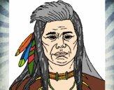 Dibujo Indio pintado por JOSEMG