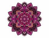 Dibujo Mandala decorativa pintado por mabel88