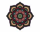 Mandala flor de la concentración