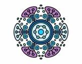Dibujo Mandala mundo lejano pintado por mabel88