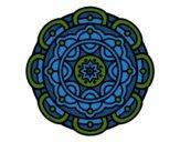 Dibujo Mandala para la relajación mental pintado por mabel88