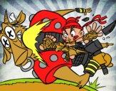 Patada ninja