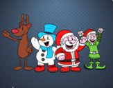 Santa Claus y sus amigos