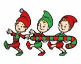 Tres Elfos de Navidad