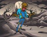 Zombie horripilante