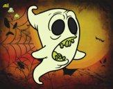 Dibujo Fantasma mellado pintado por lu-26