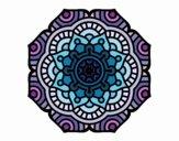Dibujo Mandala flor conceptual pintado por Orianalas