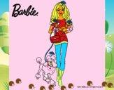 Barbie con sus mascotas