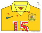 Camiseta del mundial de fútbol 2014 de Australia