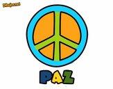 Dibujo Círculo de la paz pintado por MariaCaste
