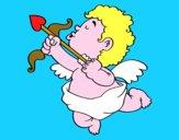 Cupido con su flecha