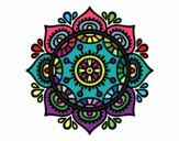 Dibujo Mandala para relajarse pintado por POCHA24