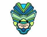 Dibujo Máscara de rayos gamma pintado por LUISNADO