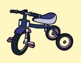 Dibujo Triciclo para niños pintado por mariacorte