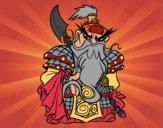 Dibujo Guerrero chino Guan Yu pintado por geral27