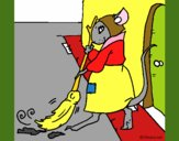 Dibujo La ratita presumida 1 pintado por mafarias