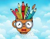 Dibujo Taza animada con lápices pintado por Less_HR