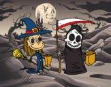 Truco o trato de Halloween
