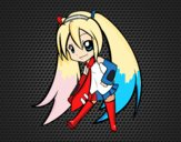 Dibujo Hatsune Vocaloid pintado por annie9000