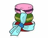 Dibujo Macarons pintado por vicky11