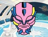 Máscara de supervillano