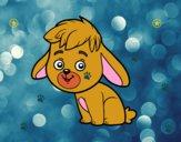 Dibujo Un conejo de campo pintado por nile
